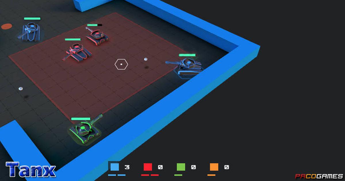 Tanx - Juega gratis en PacoGames.com!