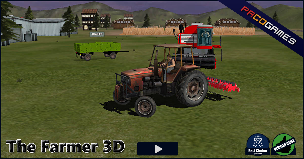 The Farmer 3d Play It For Free At Pacogames