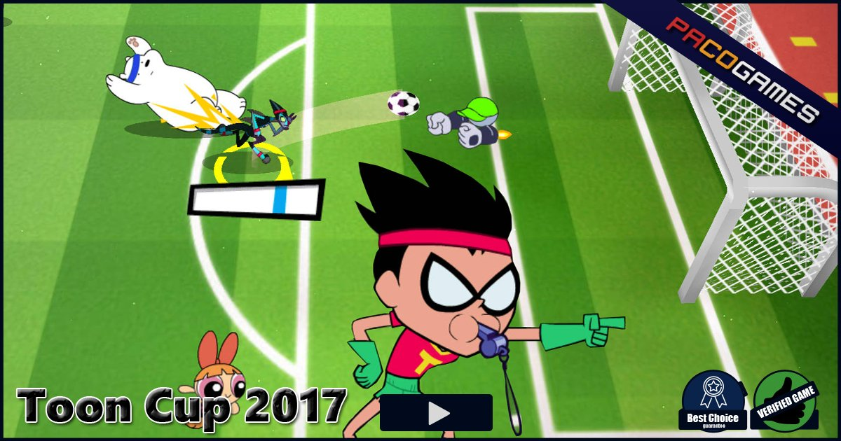 Toon Cup 2017 | Play the Game for Free on PacoGames