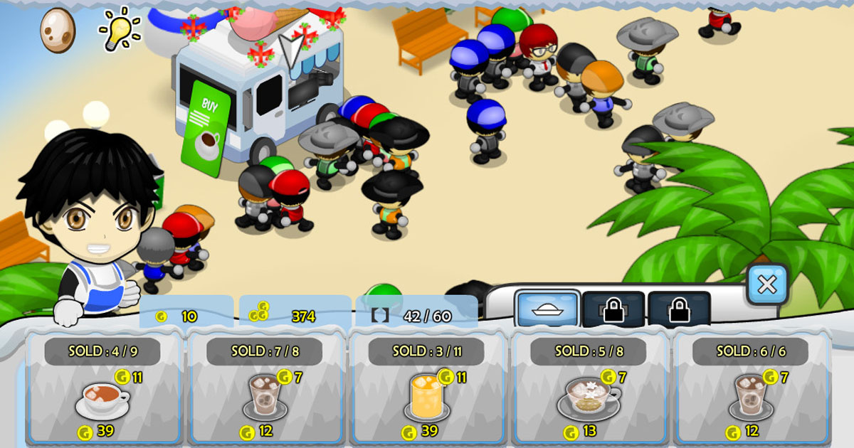 Tropical Ice Tycoon | Play the Game for Free on PacoGames