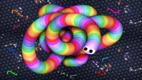 Modern snake games