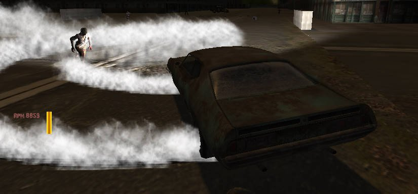 Drift Z: Zombie driving games