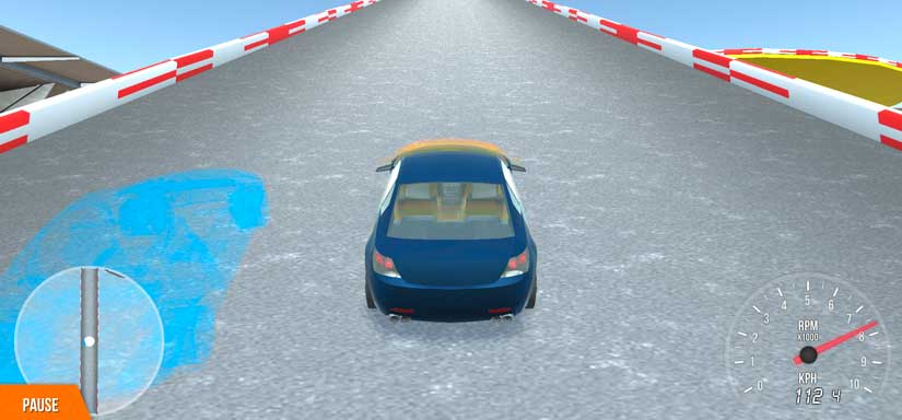 3d building car game similar to trackmania. Available for playing right in a browser.