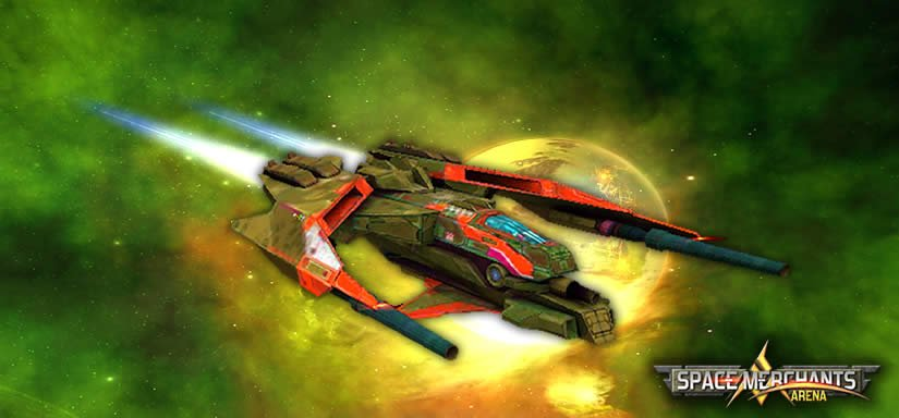 Jogo Space Merchants: Arena